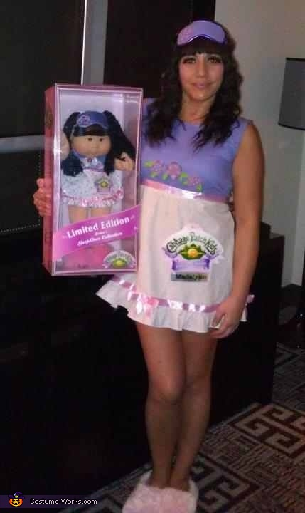 Me and my cabbage patch kid, Cabbage Patch Kid Costume