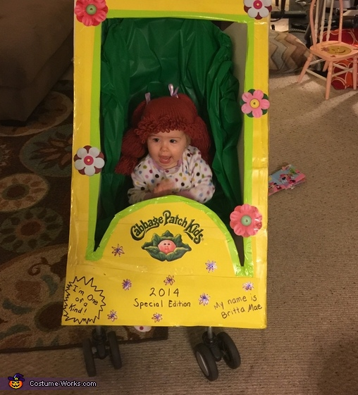 Cabbage Patch Kid mint in box!, Cabbage Patch Kid Costume