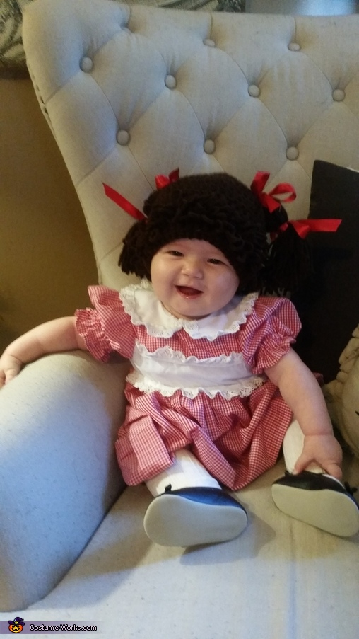cutest one in the patch, Cabbage Patch Kid Costume