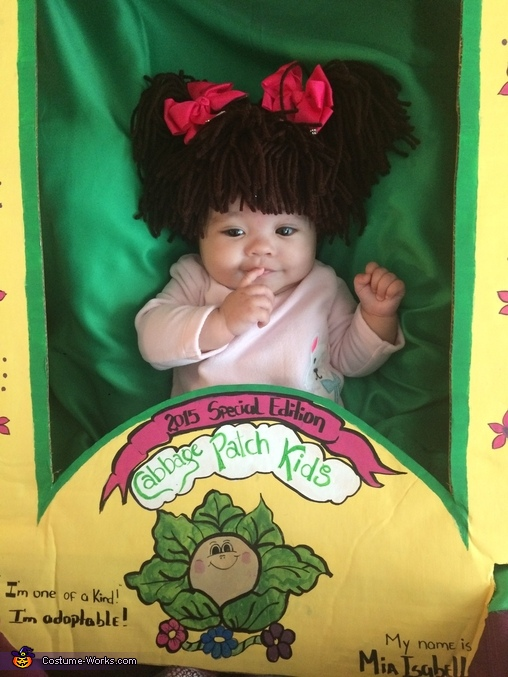 Cabbage Patch Kids Baby Homemade Costume