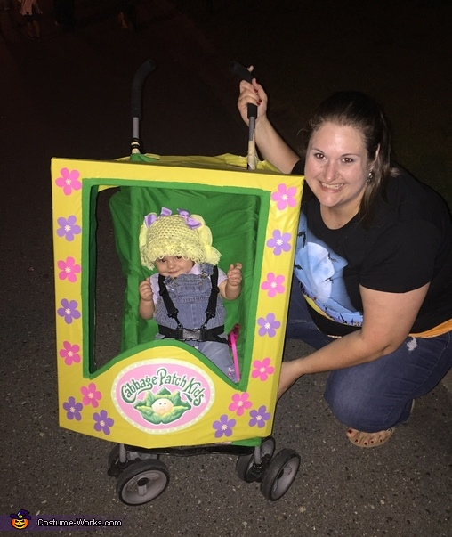 We had a great time!!, Cabbage Patch Kids Doll Costume