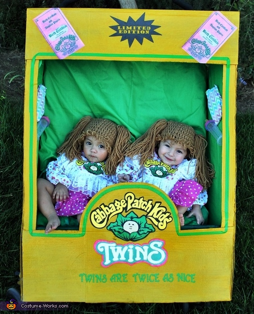 Cabbage Patch Kids Twins Costume