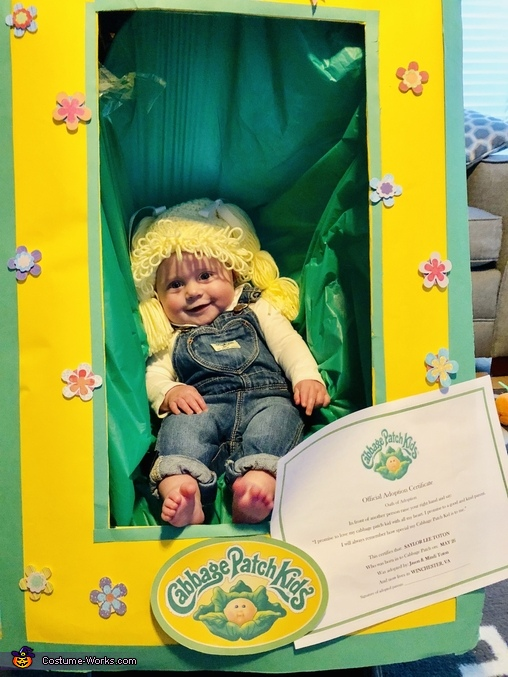 Cabbage Patch Saylor Homemade Costume