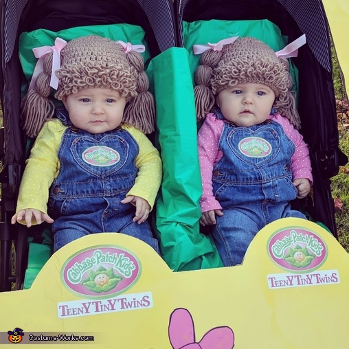 Cabbage Patch Twins Costume