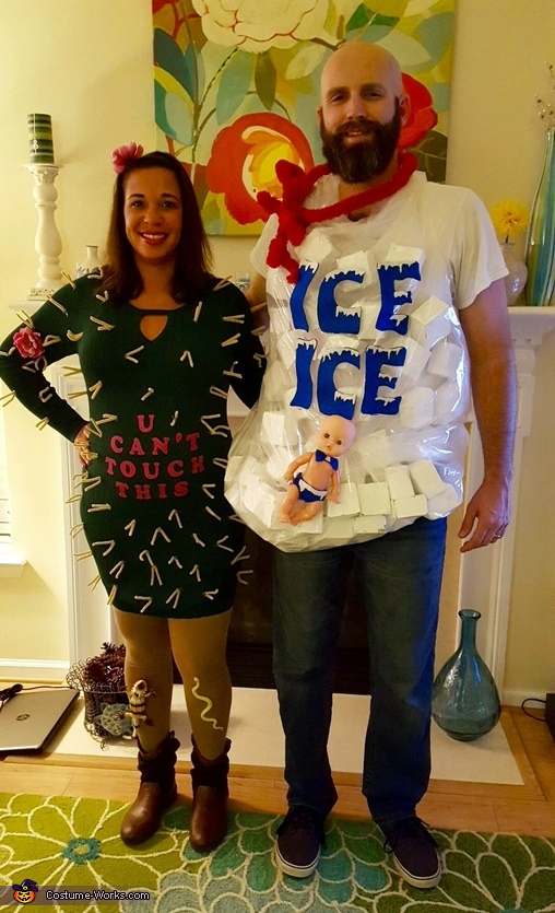 Cactus and Ice Costume