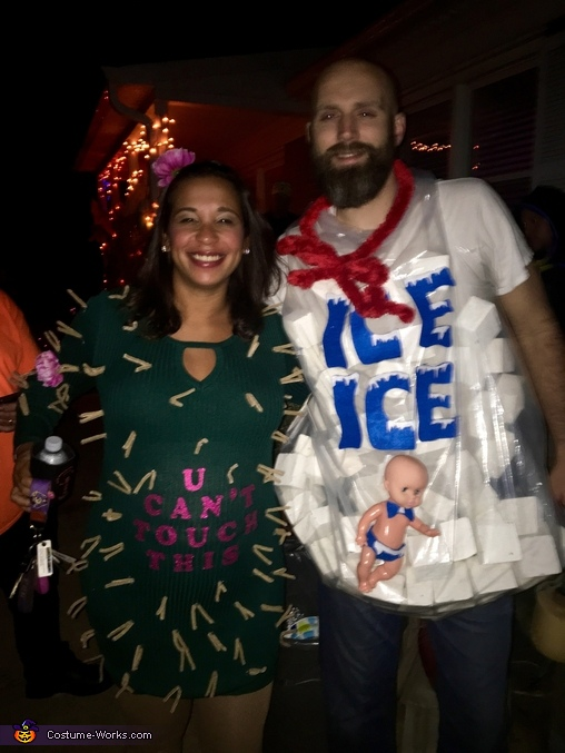 Still standing, not melting., Cactus and Ice Costume