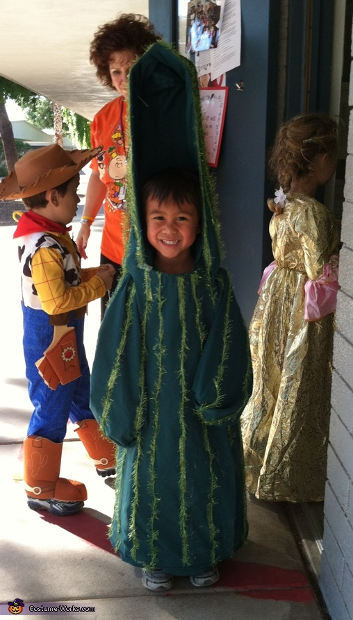 Saguaro Cactus - Homemade costumes for kids