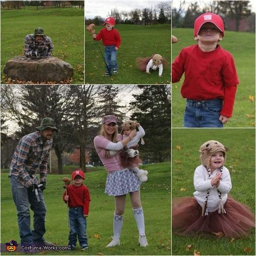 Caddyshack Family Homemade Costume