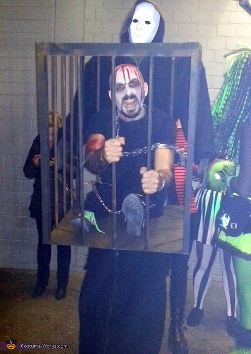 Caged Demon Costume