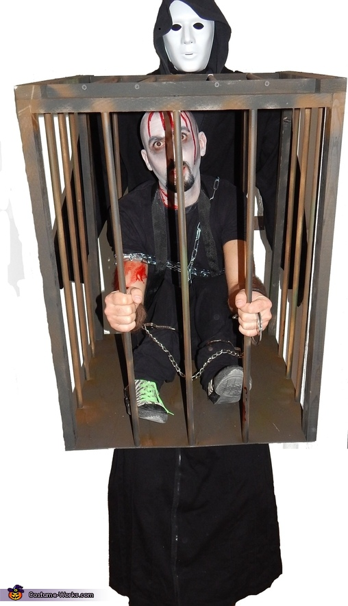 Caged Demon Homemade Costume