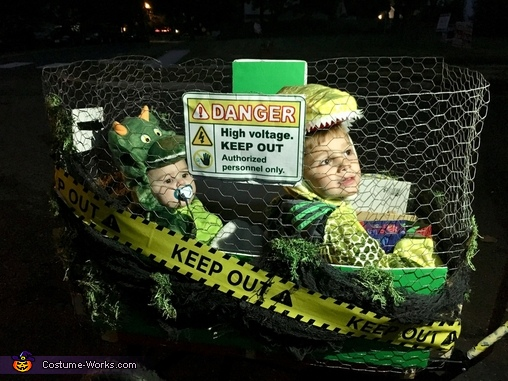 Caged Dinosaurs Costume