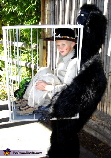 Hunter Captured by Gorilla - Homemade costumes for boys