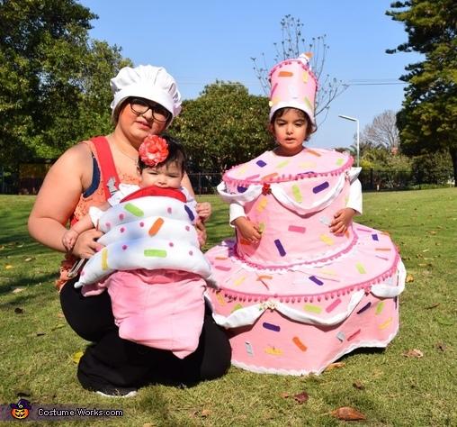 Cake and Cupcake Homemade Costume