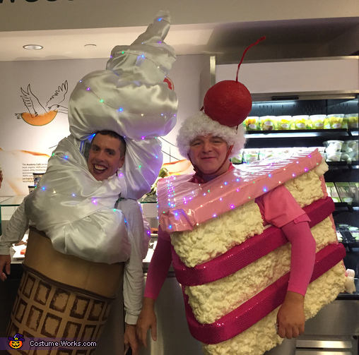 Cake and Ice Cream Costume