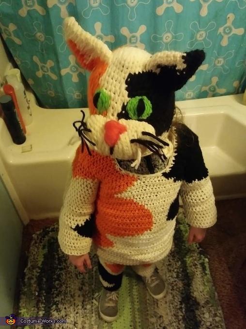 Calico Cat Costume