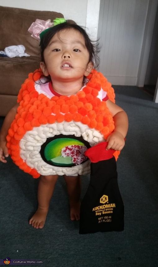 California Maki Sushi Baby Costume
