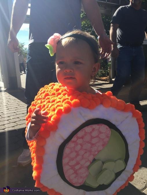 California Roll Baby Homemade Costume