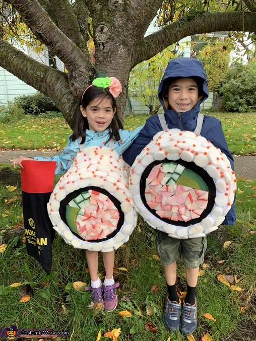California Rolls Costume