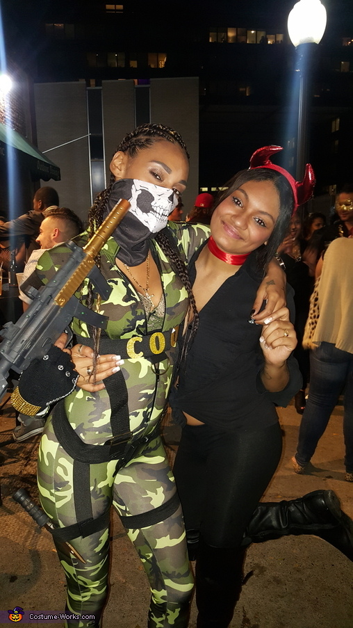 Call of Duty Girls Homemade Costume