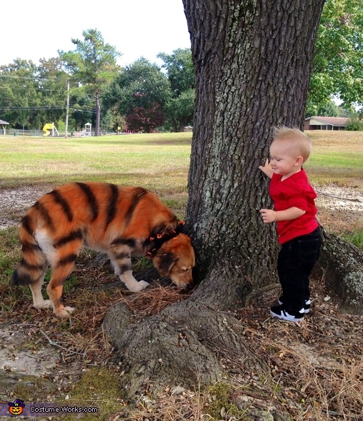 Calvin and Hobbes Halloween Costumes