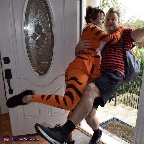Calvin & Hobbes 'the Greeting', Calvin & Hobbes Costume