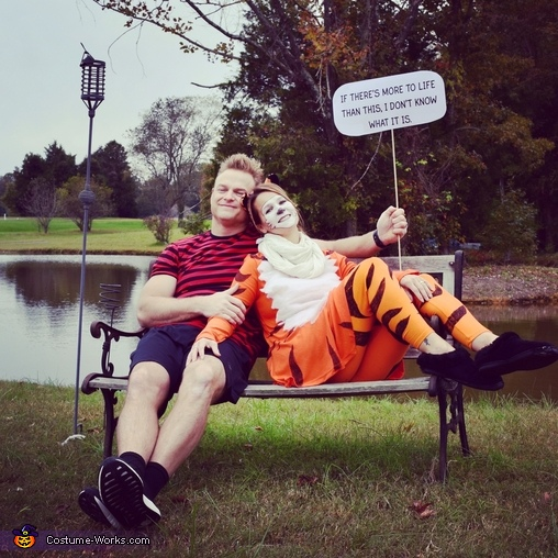 Calvin & Hobbes relaxing, Calvin & Hobbes Costume