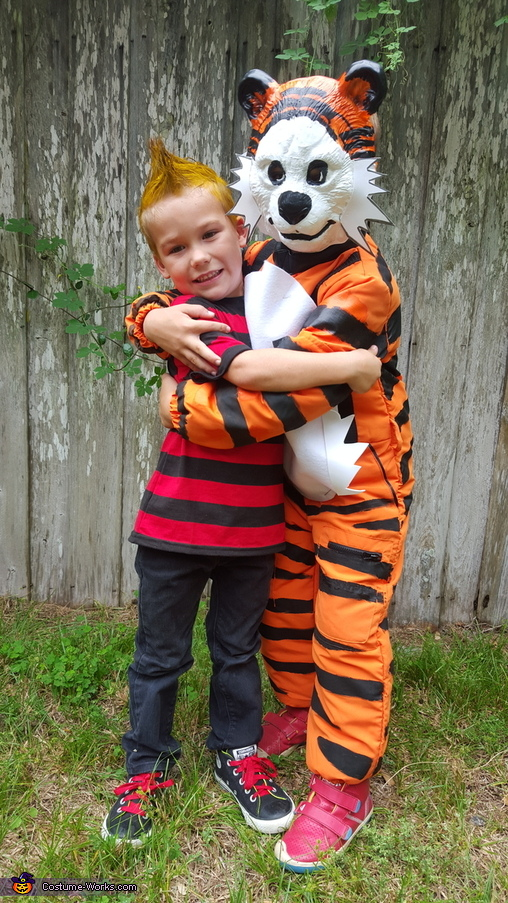 Best Friends Calvin and Hobbes, Calvin and Hobbes Costumes