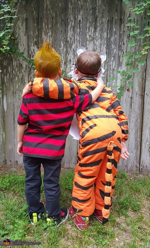 Silly Calvin and Hobbes, Calvin and Hobbes Costumes