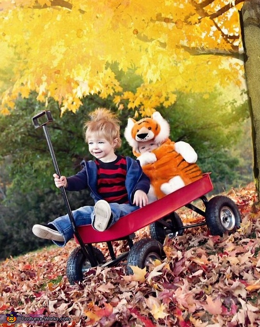 Calvin and Hobbes Costume