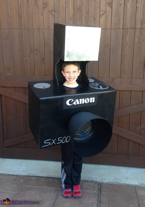 Say Cheese! Camera Costume