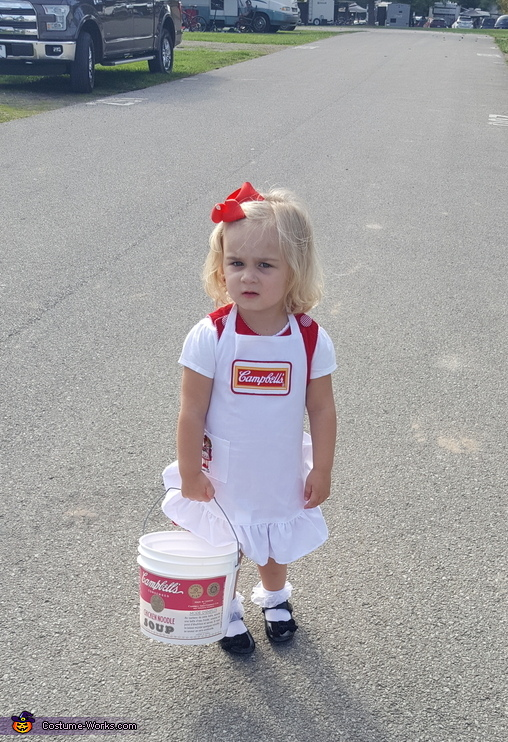 Campbell's Soup Kid Costume