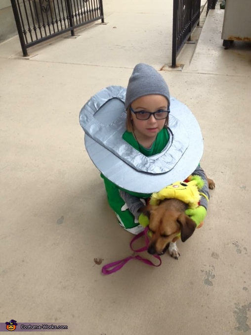 Pop the top., Can of Mountain Boo Costume
