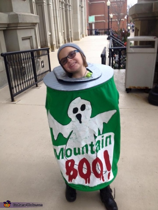 Can of Boo, Can of Mountain Boo Costume