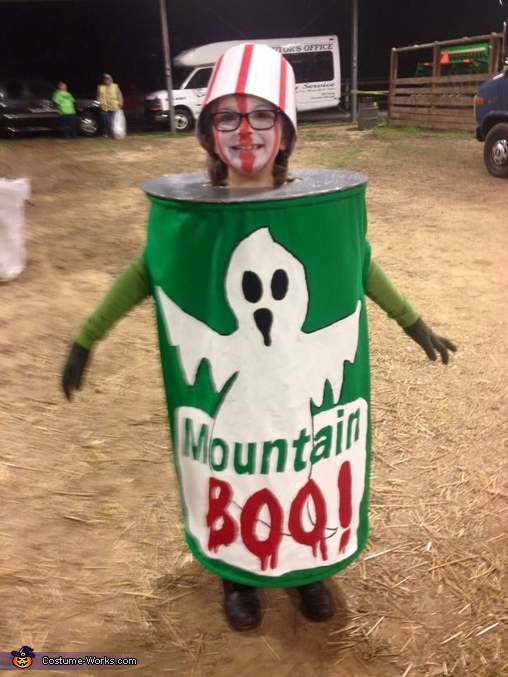 Can of Mountain Boo Costume