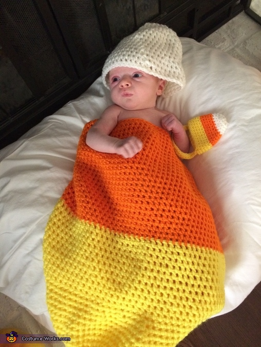Candy Corn Infant Costume