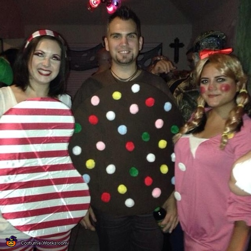 Candy Crush Group Costume