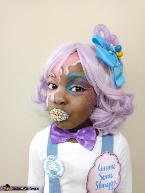 Candy Girl Homemade Costume
