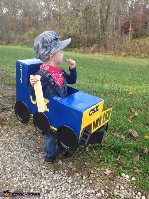 Candy Train Baby Homemade Costume