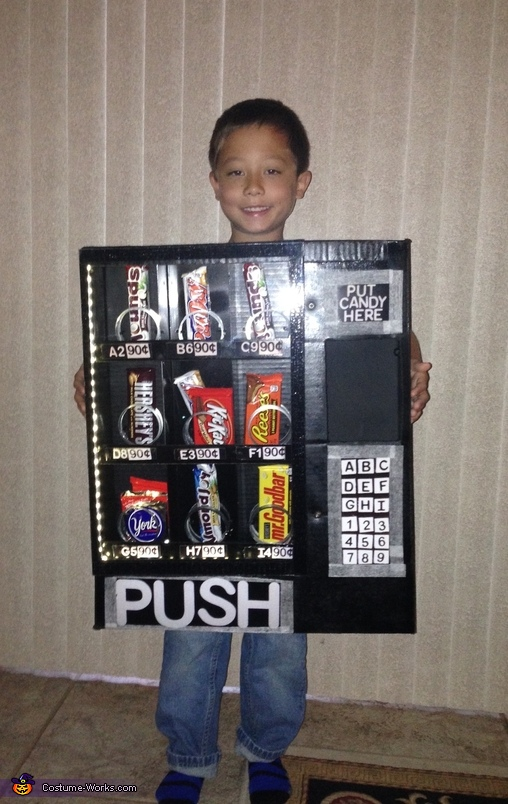 Candy Vending Machine Costume