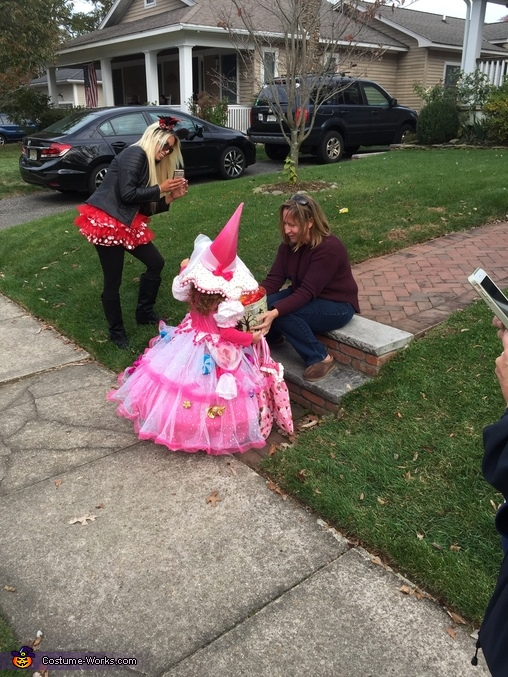Trick or treating, Candy Witch Costume