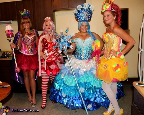Candyland - Homemade costumes for groups