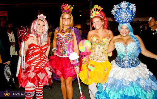 Candyland on the streets!, Candyland Characters Costume
