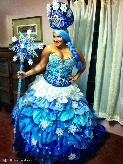 Queen Frostine!, Candyland Characters Costume