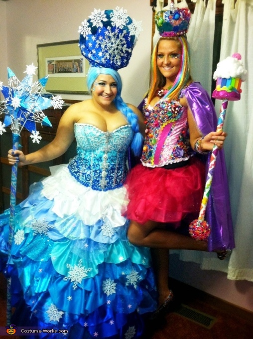 The Queens! Queen Frostine and Queen Candy!, Candyland Characters Costume