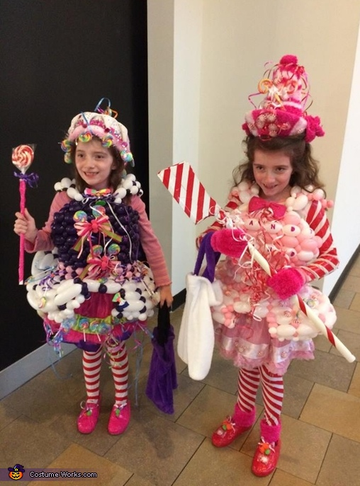 Candy Land Miss Mint and Lollipop Princess Costume