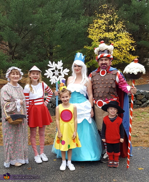 Candyland Family Costume