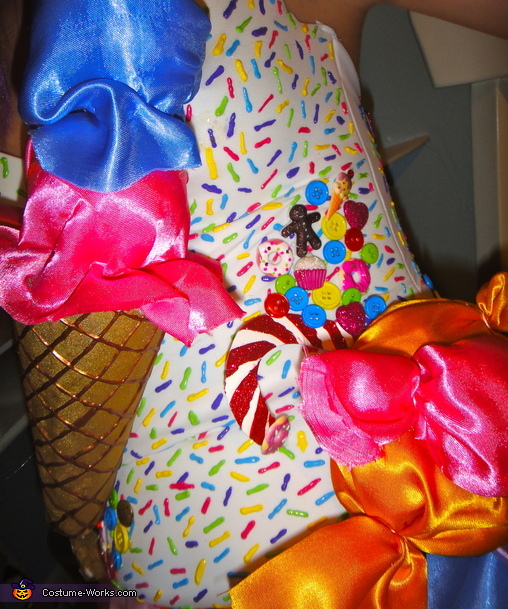 more of the costume!, Candyland Katy Perry Costume