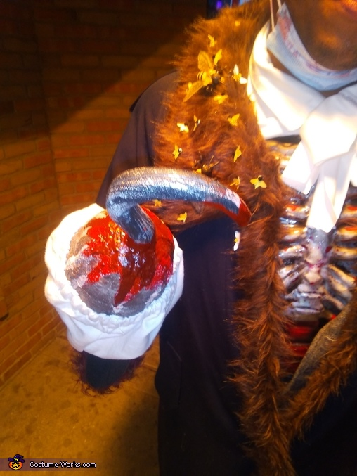 Candyman Homemade Costume