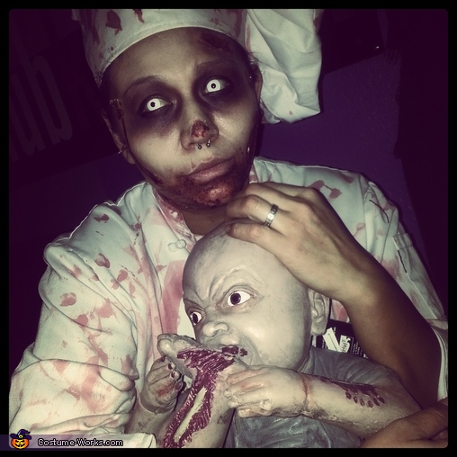 Cannibal Chef Homemade Costume
