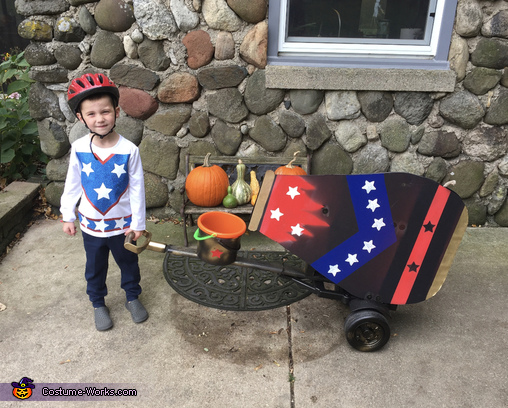 Cannon Ball Boy Costume